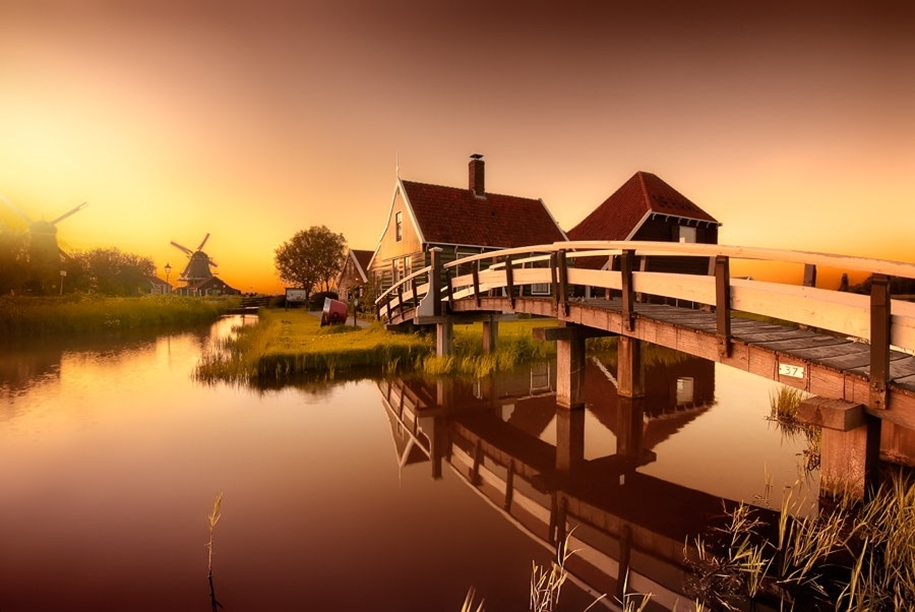 Atmospheric landscapes of Holland 12