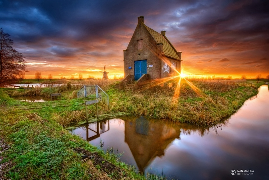 Atmospheric landscapes of Holland 16
