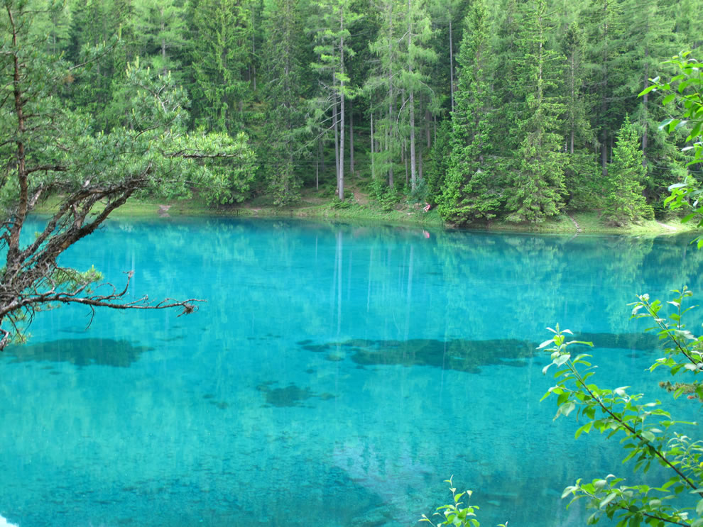 Austrian Park, which every spring turns into a crystal clear lake 12