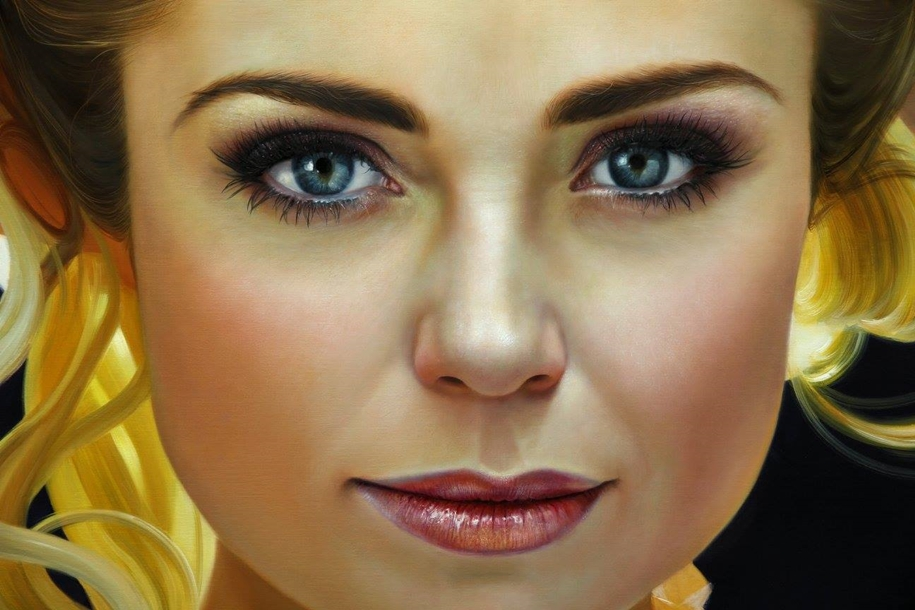 Awesome realistic paintings by Christiane Vleugels 02