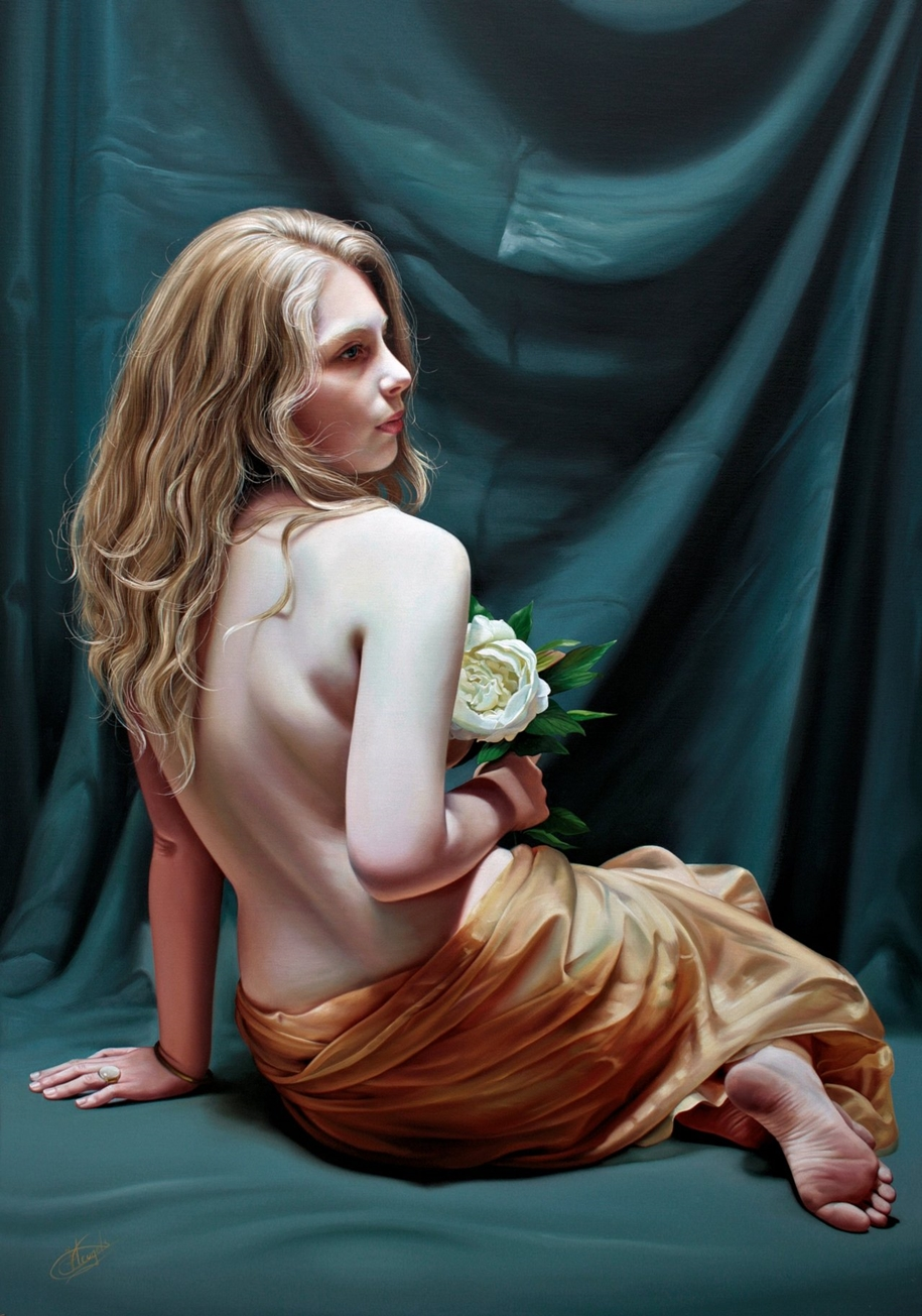 Awesome realistic paintings by Christiane Vleugels 13