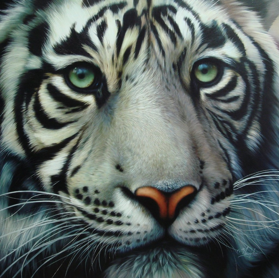 Awesome realistic paintings by Christiane Vleugels 14