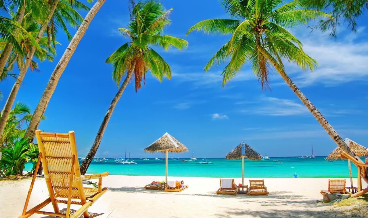 Фотографии живописных пляжей
