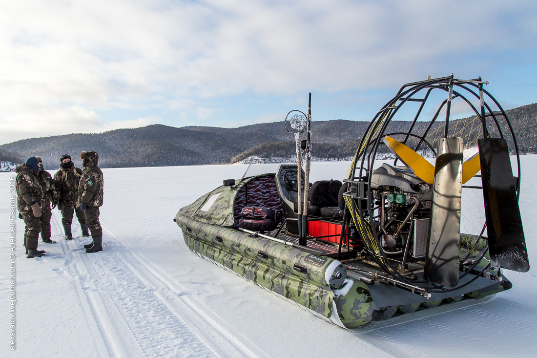 Fighting the poachers on lake Baikal 01