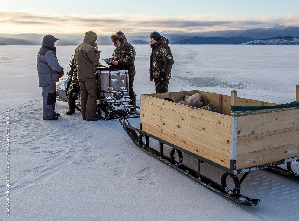 Fighting the poachers on lake Baikal 14