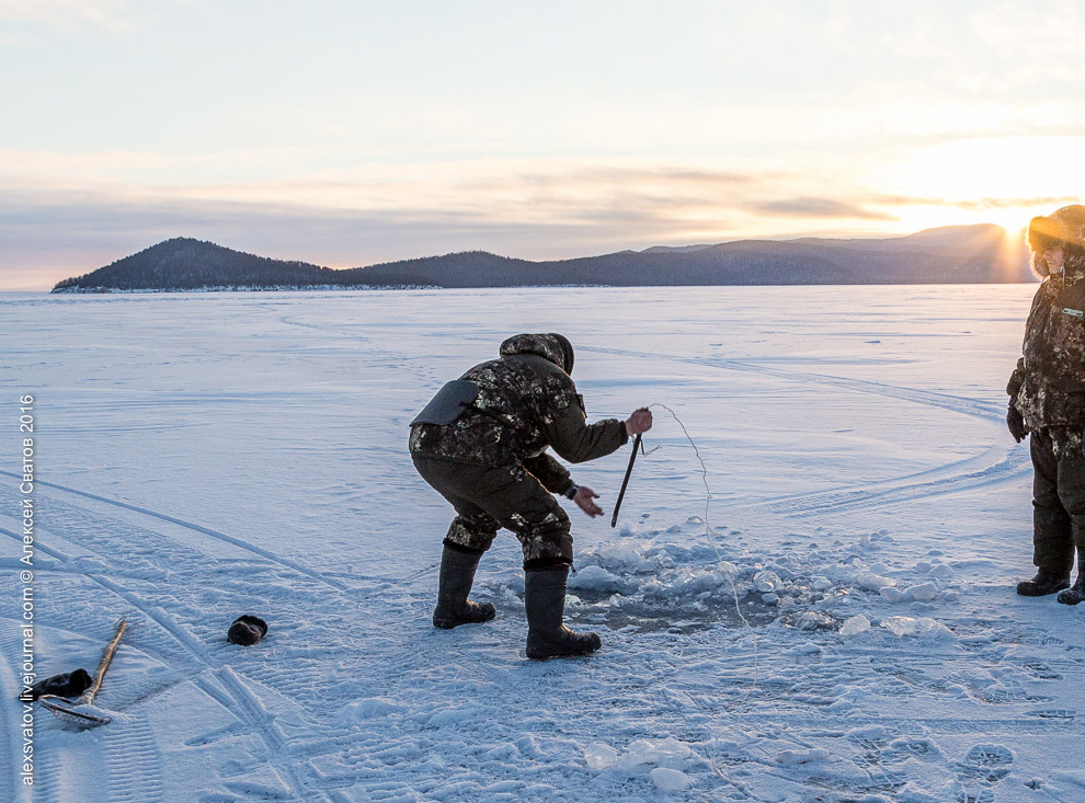 Fighting the poachers on lake Baikal 17