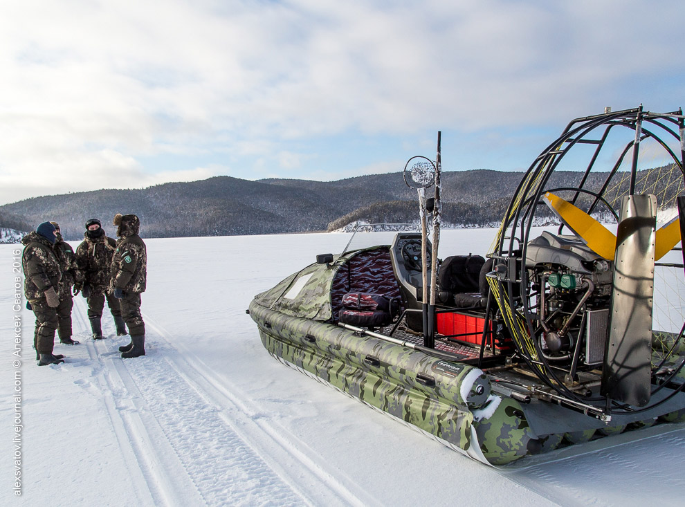Fighting the poachers on lake Baikal 20