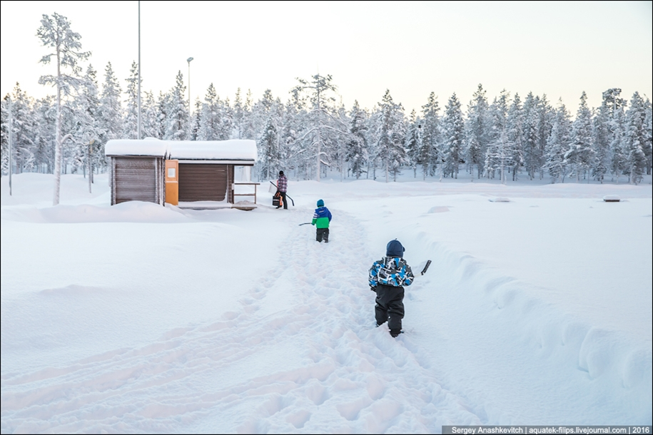 Finnish settlement in the Arctic 24