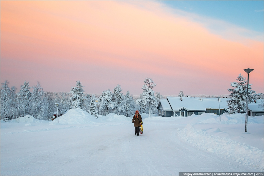 Finnish settlement in the Arctic 32