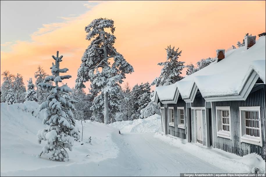 Finnish settlement in the Arctic 34