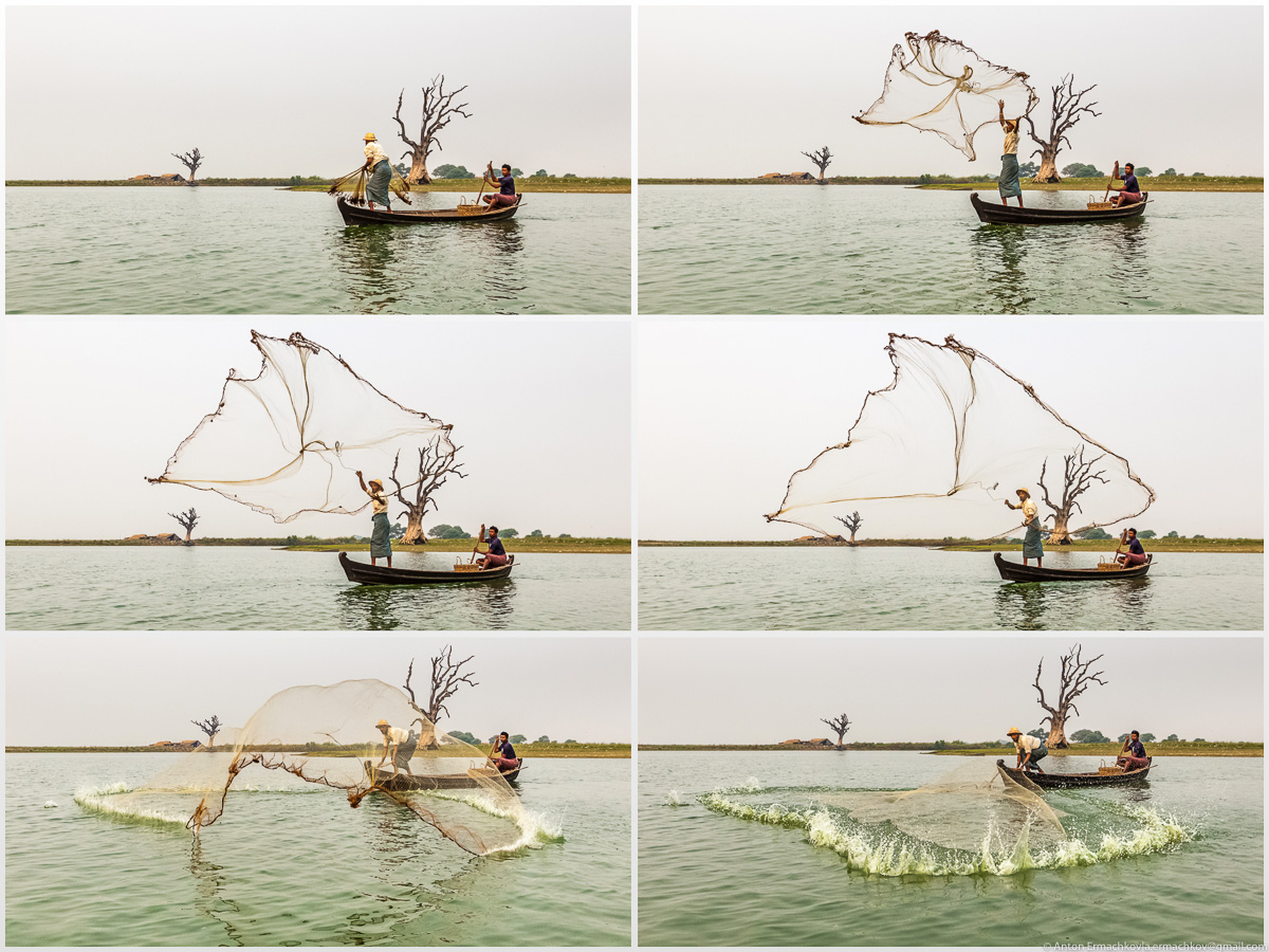 Fishing in Burma or the dance network 10