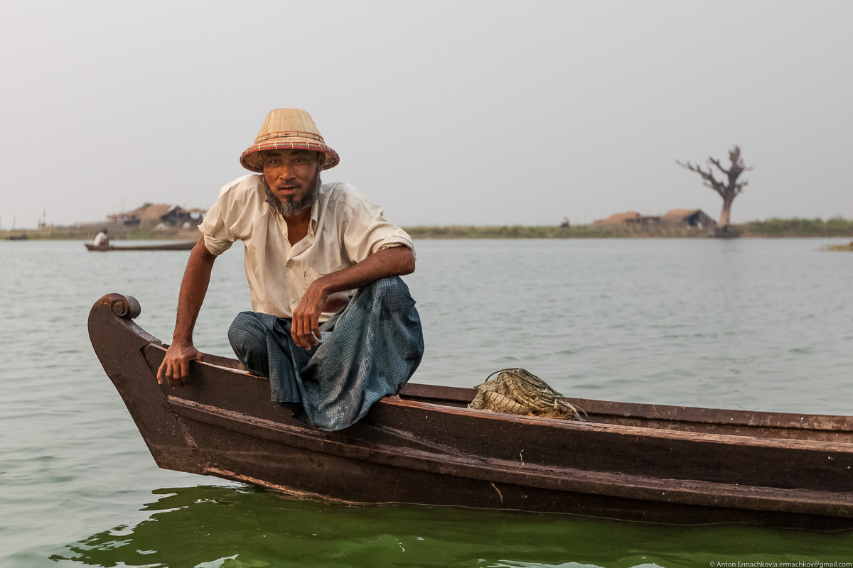 Fishing in Burma or the dance network 14
