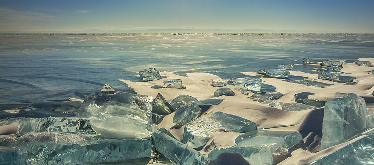 Icy wonders of lake Baikal 10