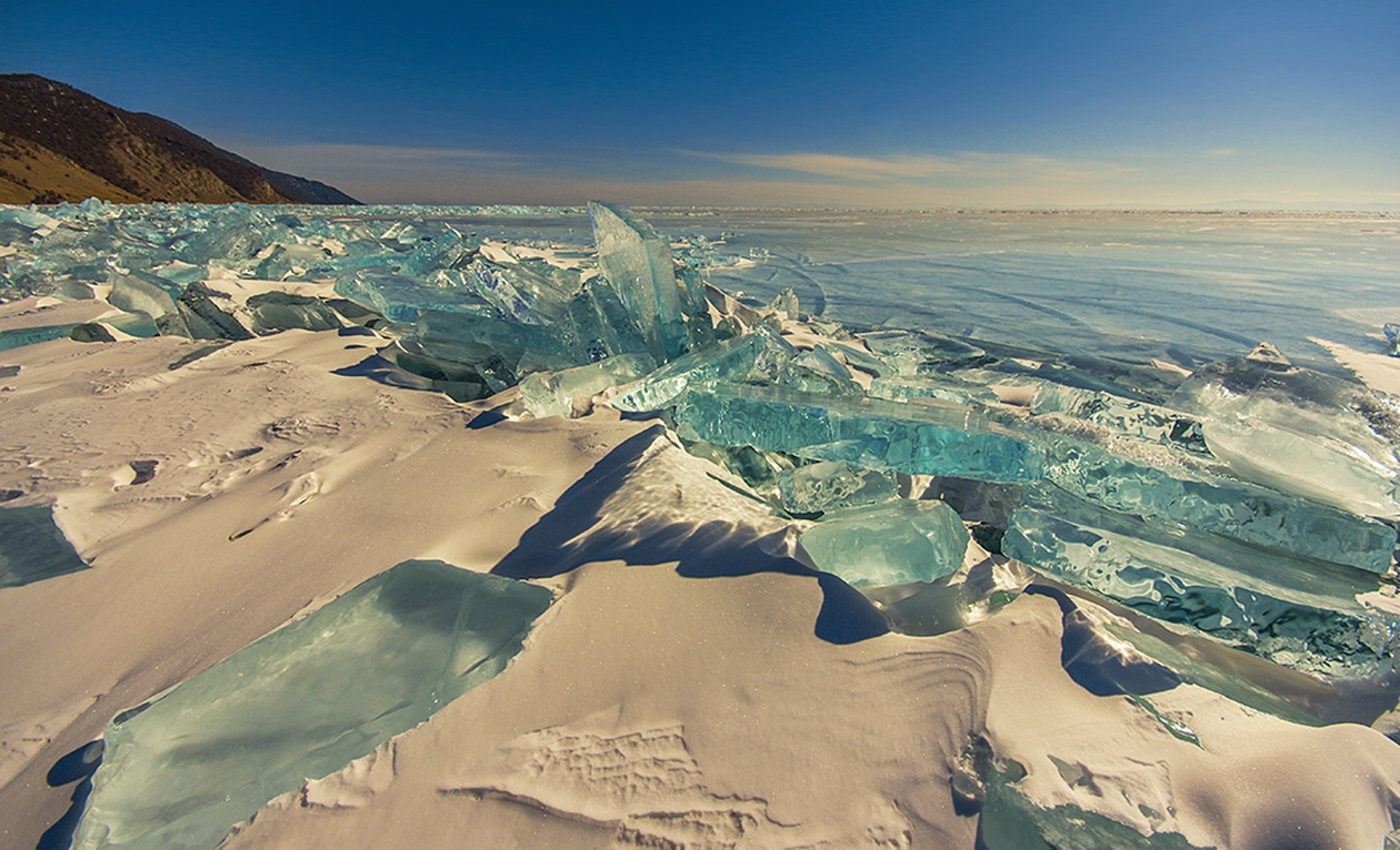 Icy wonders of lake Baikal 11