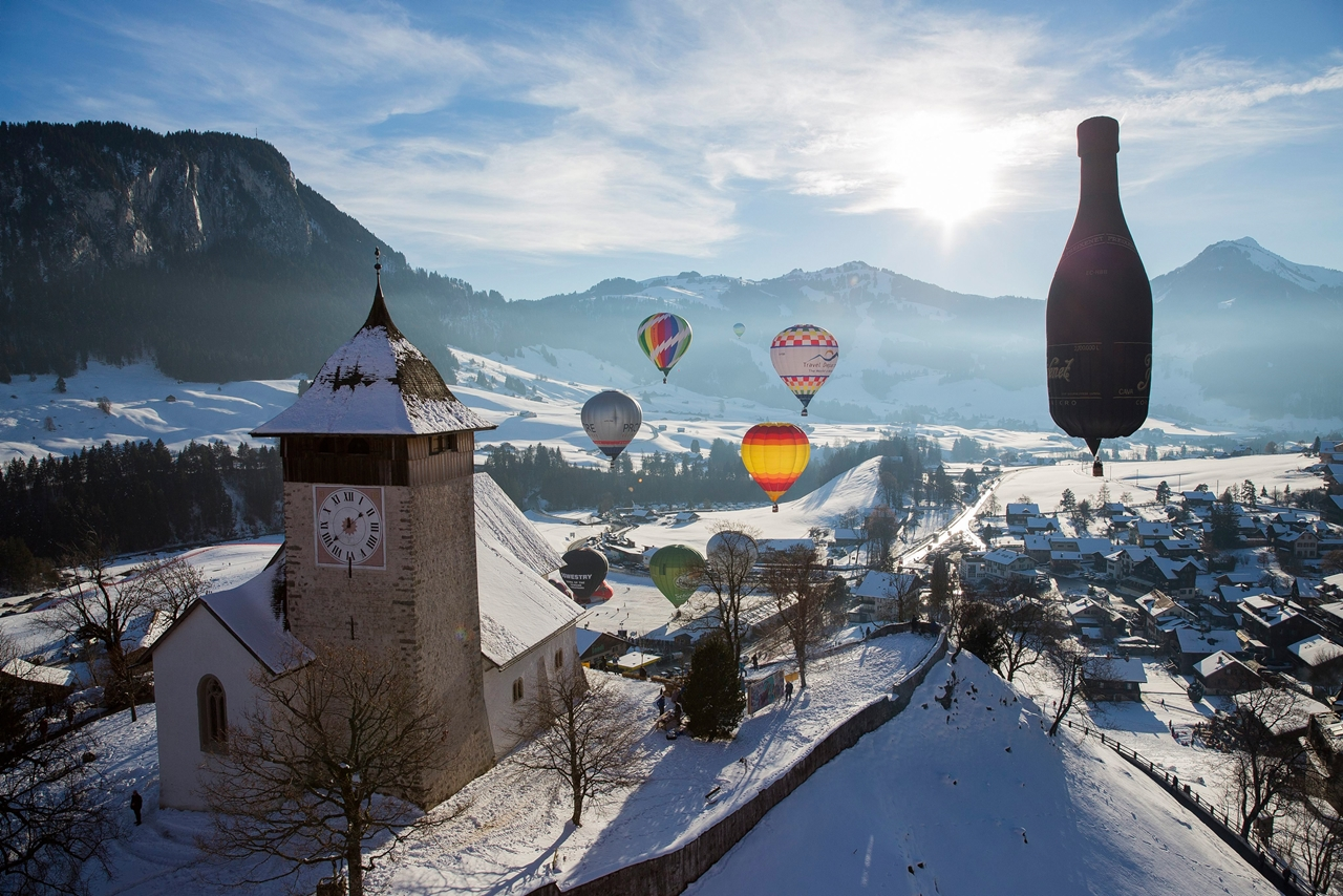 International balloon festival in Switzerland 01