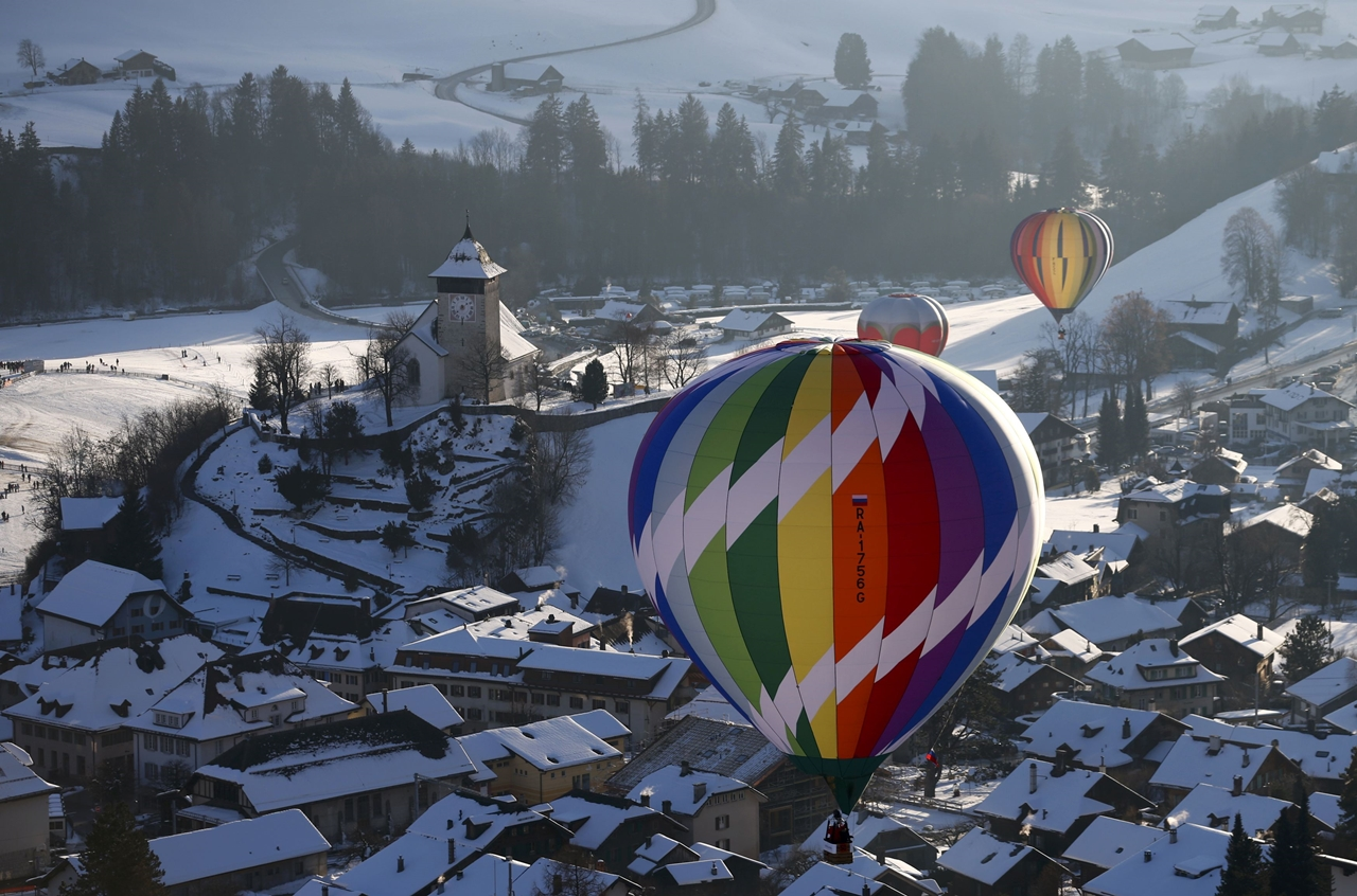 International balloon festival in Switzerland 11