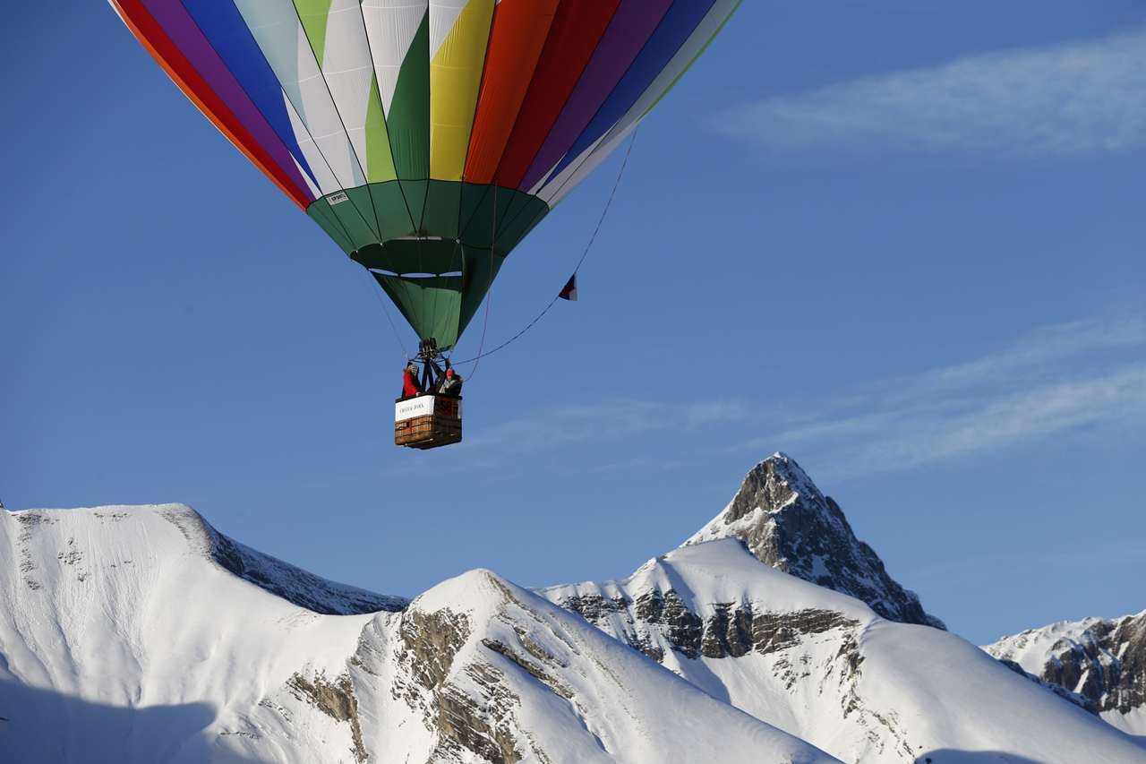 International balloon festival in Switzerland 14
