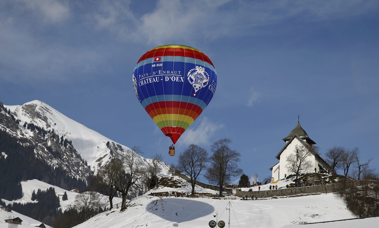 International balloon festival in Switzerland 16
