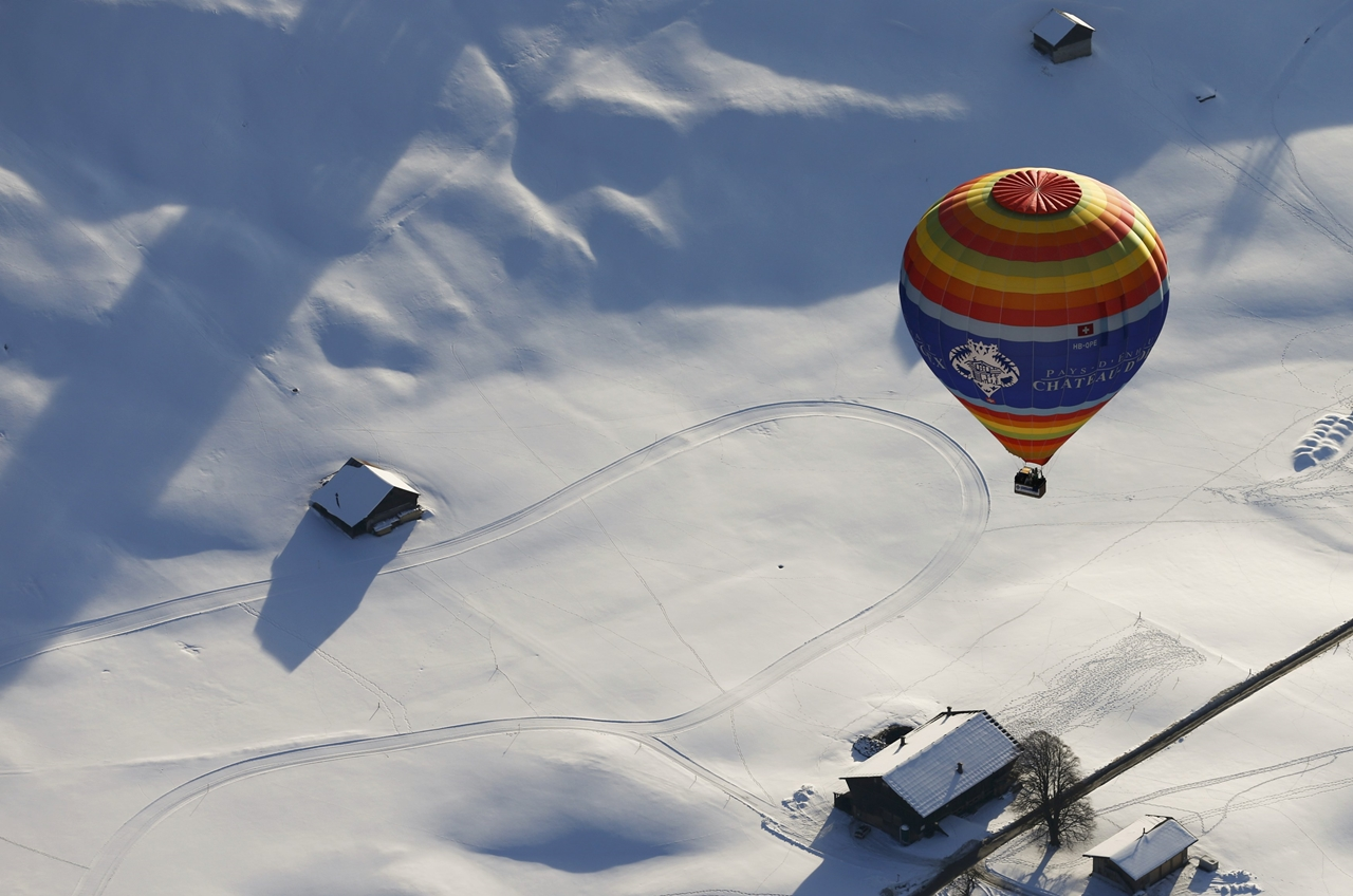 International balloon festival in Switzerland 17
