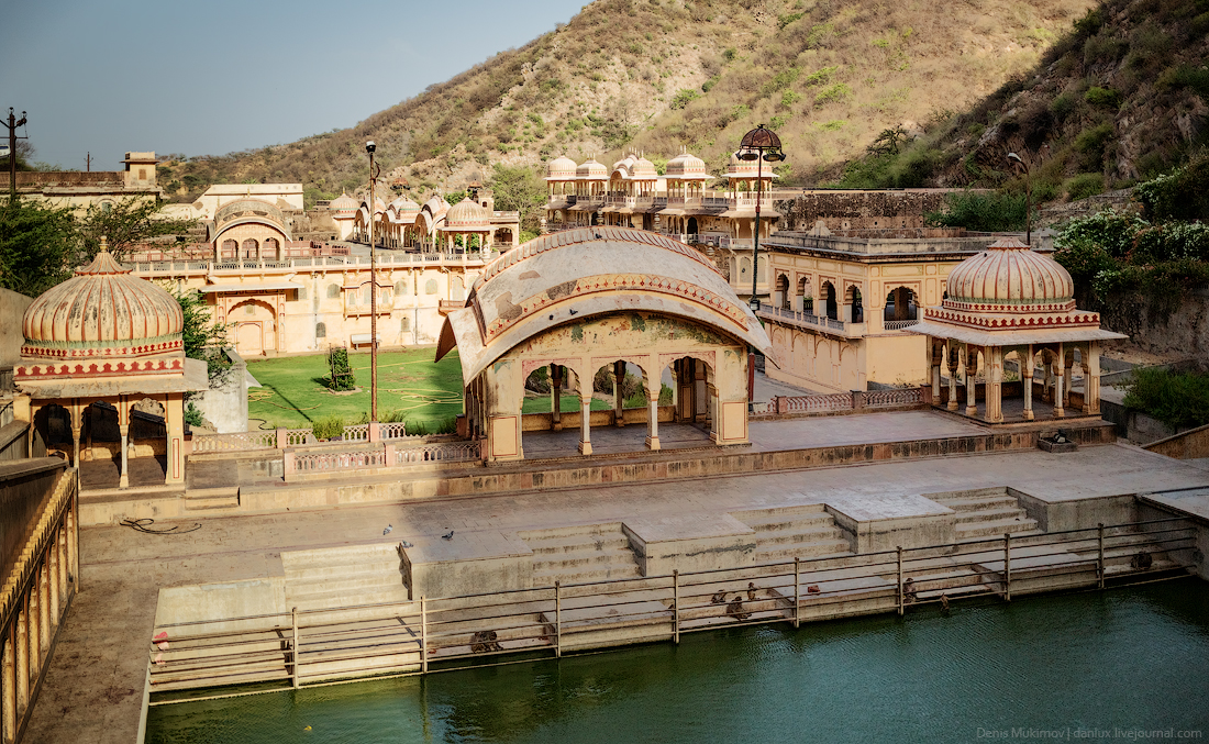 Jaipur. The palaces and FORTS 21