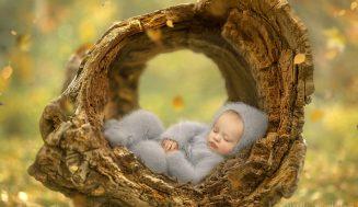 Волшебные снимки маленьких деток: чудо глазами мамы