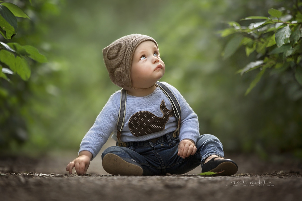 Magical images of little children - the wonder through the eyes of mom 04
