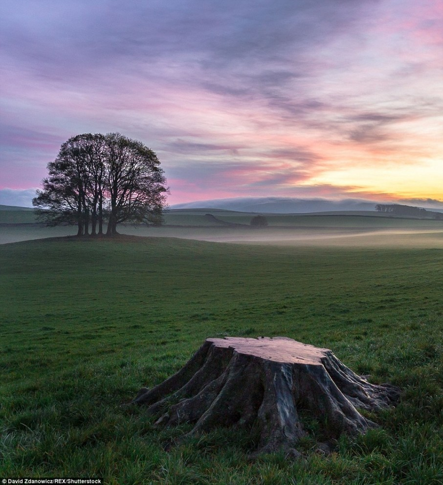 Magnificent scenery of the UK in photos of David Zdanovich 09