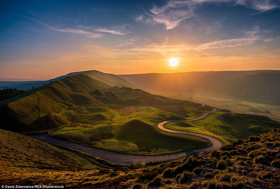 Magnificent scenery of the UK in photos of David Zdanovich 12