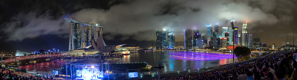 New Year in Singapore 02