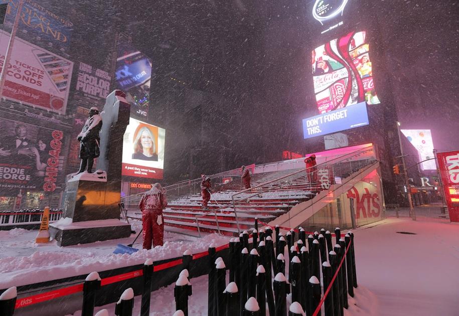 New York got snowed in 05