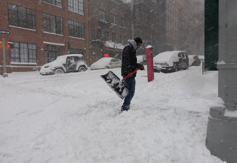 New York got snowed in 09