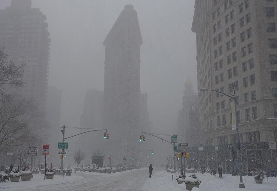 New York got snowed in 10