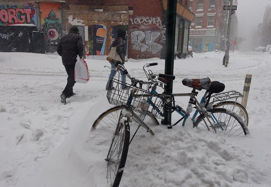 New York got snowed in 13