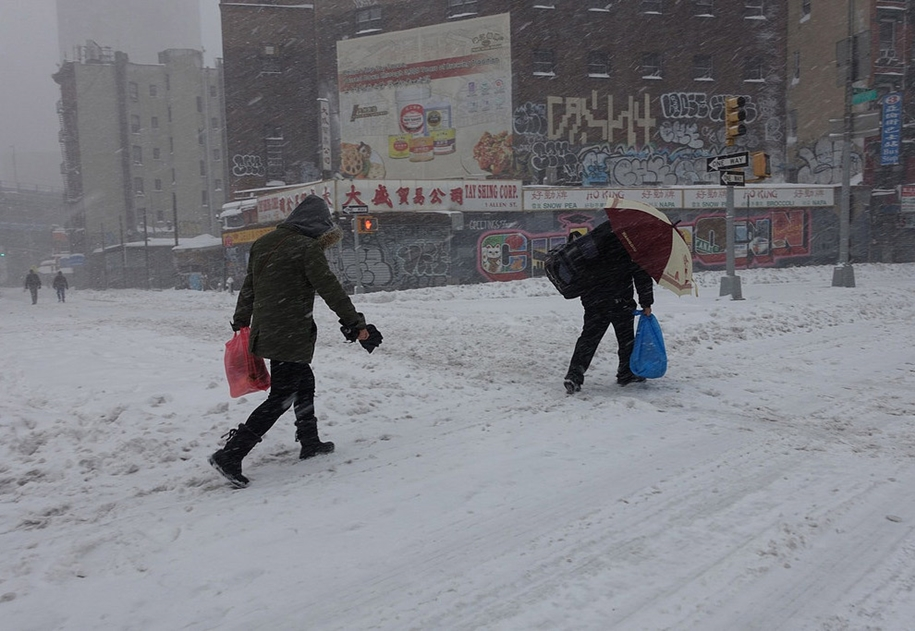 New York got snowed in 15
