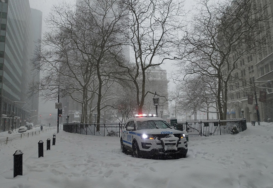 New York got snowed in 22