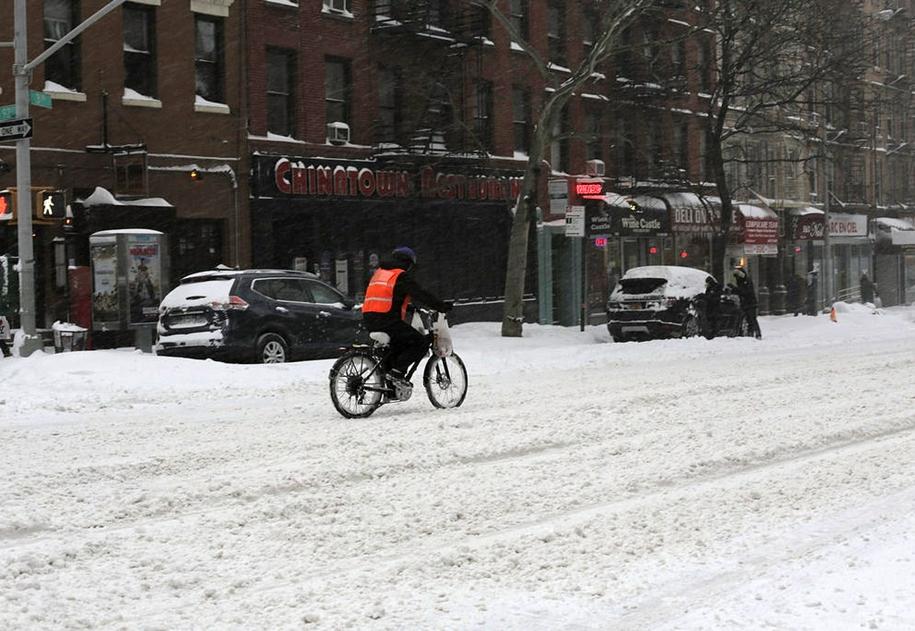 New York got snowed in 26