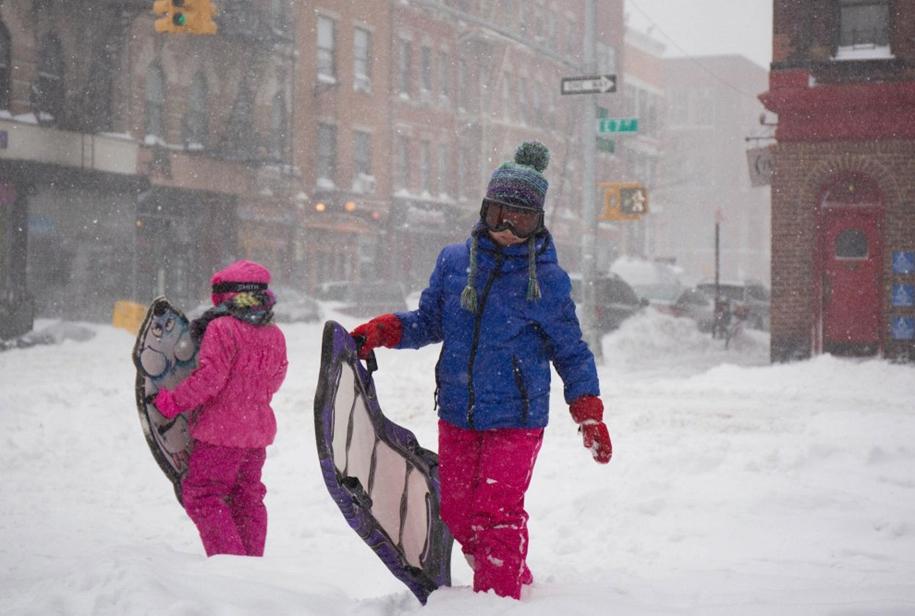 New York got snowed in 30