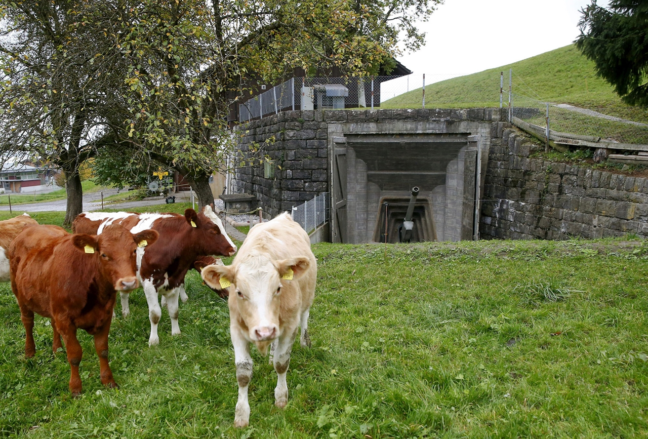 Secret bunkers and bomb shelters of Switzerland 17