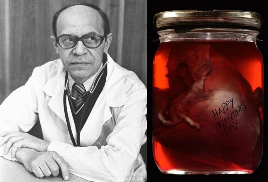 Трогательная история: зачем академик Алмазов в своем кабинете хранил сердце пациентки