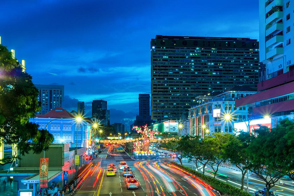 Singapore's Chinatown prepares for Chinese New Year 02