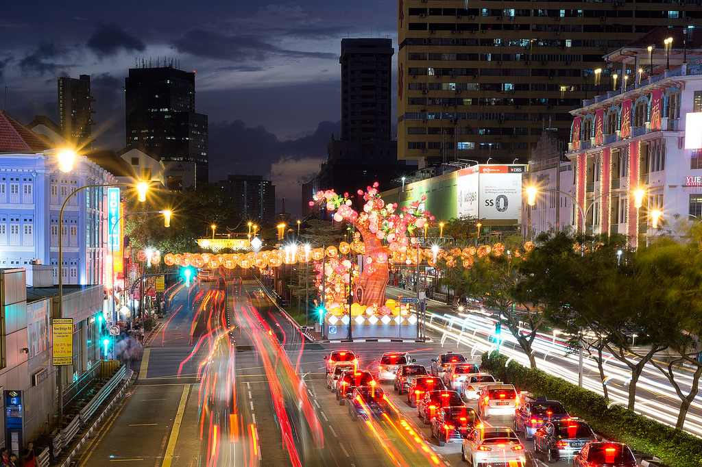 Singapore's Chinatown prepares for Chinese New Year 03
