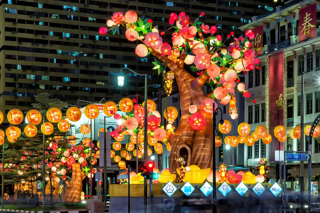 Singapore's Chinatown prepares for Chinese New Year 04