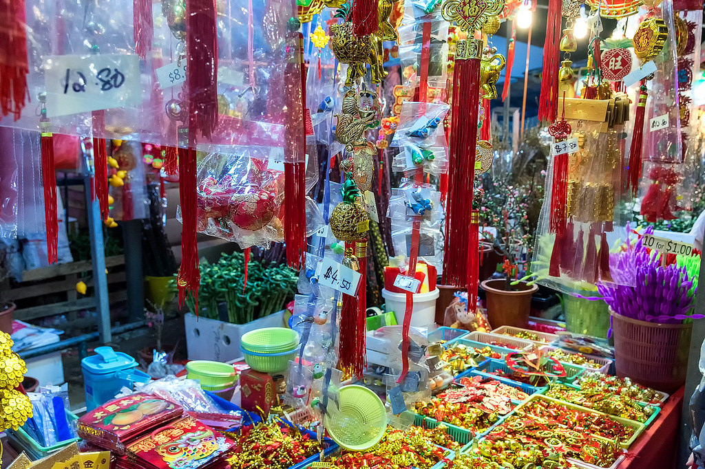 Singapore's Chinatown prepares for Chinese New Year 10
