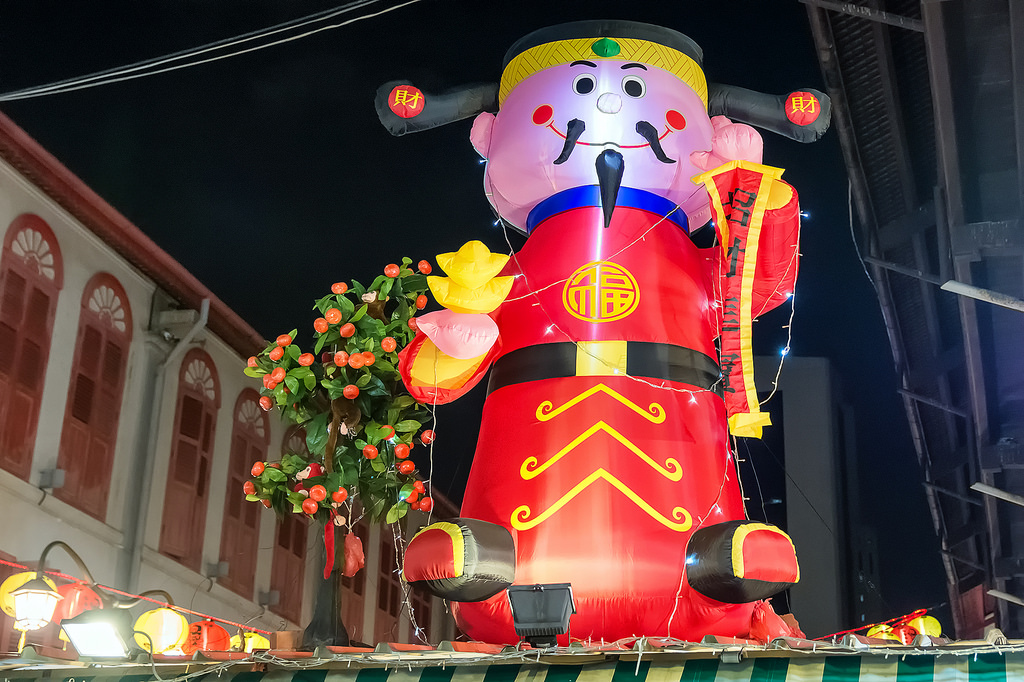 Singapore's Chinatown prepares for Chinese New Year 11