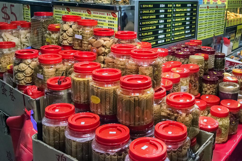 Singapore's Chinatown prepares for Chinese New Year 12