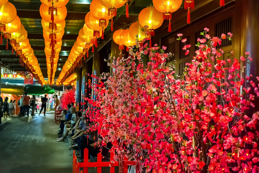 Singapore's Chinatown prepares for Chinese New Year 19