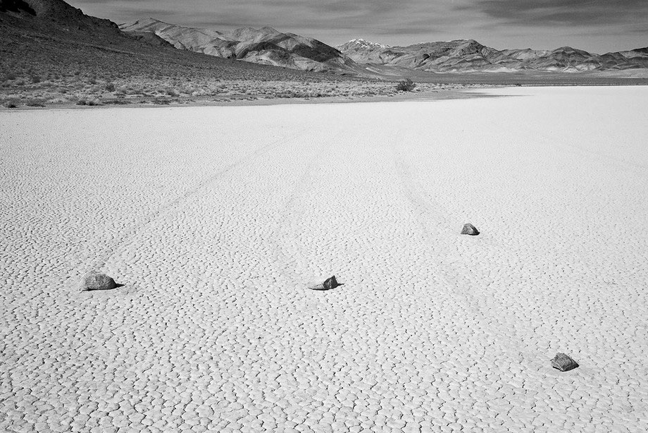 Slithering stones of Death Valley 11