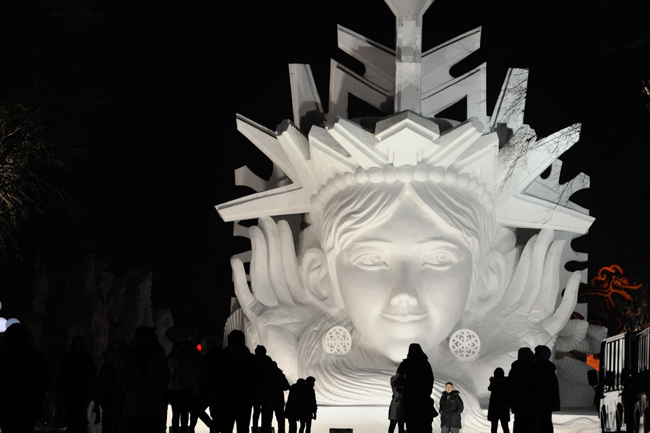 The 2016 Harbin Ice and Snow Festival 02