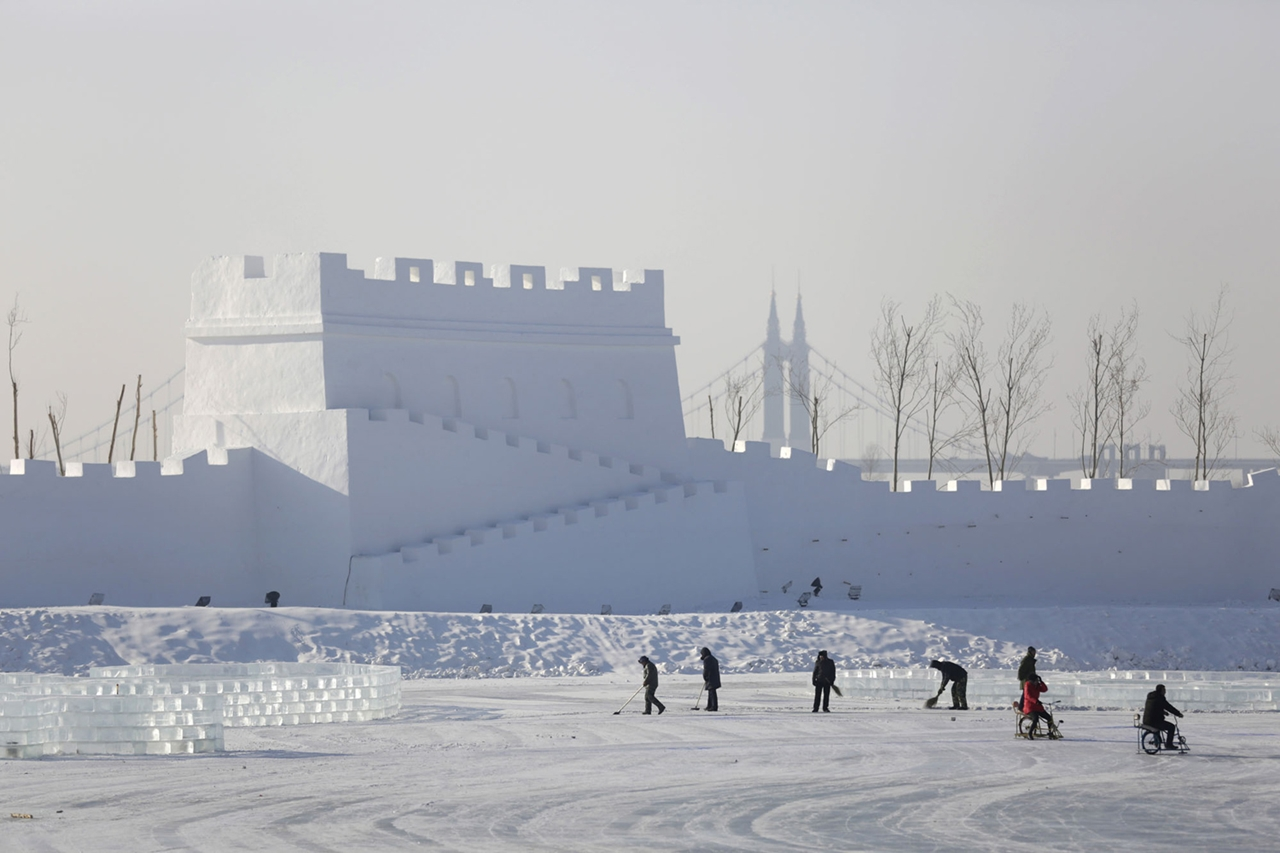 The 2016 Harbin Ice and Snow Festival 17