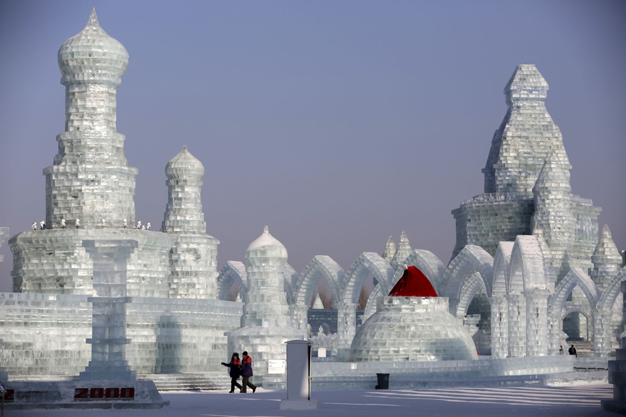 The 2016 Harbin Ice and Snow Festival 18